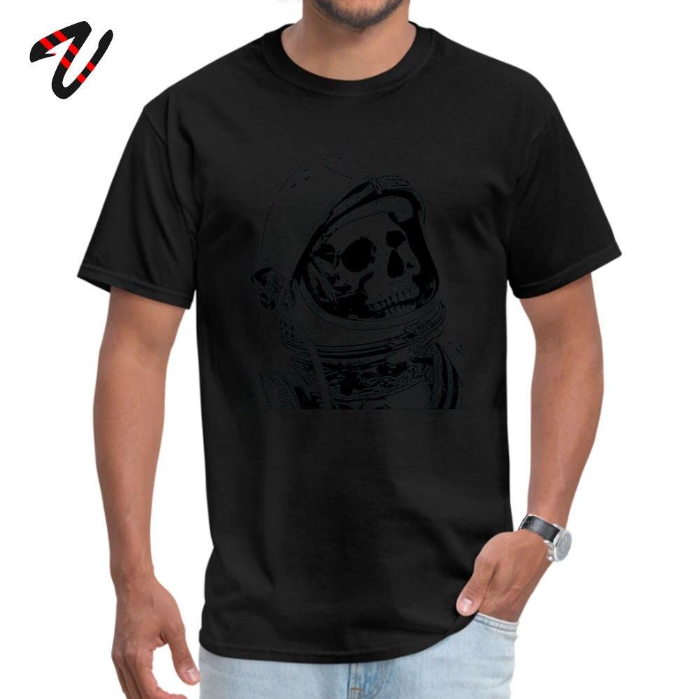 Death On Mars Top T-shirts for Men Customized Summer/Autumn Tops & Tees Short Sleeve Funky Tops Tees Crewneck Cotton Fabric Death On Mars 8712 black