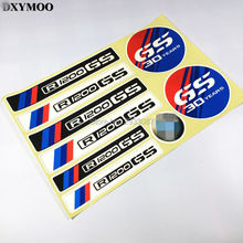 1 SET Moto GP Racing Motorcycle Tail Box Sticker Car Sticker Decals Reflective for ADV R1200GS 30 Years Anniversary