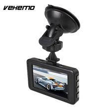 Vehemo New 3'' Inch HD Car Vehicle DVR Dash Camera Recorder G-sensor Black