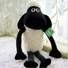 Adorable Cartoon Sheep Black Measure 25CM