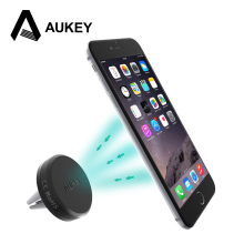 AUKEY Universal Mobile Phone Holder For Iphone 6 Plus Stent For Samsung S6 Edge S5 Car Holder Stand Support Cell Phone Holder