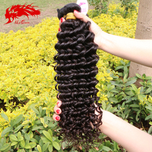 Burmese deep curly virgin hair 3 pcs/lot, ALi queen hair products unprocessed natural black human hair virgin burmese curly hair
