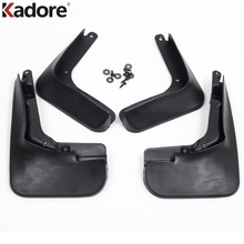 Kadore Car Styling Fit For Ford Fusion Contour 2013 2014 Plastic 4pcs Auto Mudguards Protector Mud Flaps Splash Guard Fenders