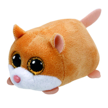 "Pyoopeo Ty Teeny Tys 4"" 10cm Peewee Hamster Plush Beanie Boos Plush Stuffed Animal Collectible Soft Big Eyes Doll Toy"