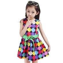 Girl Princess Dress Polka Dots Baby Girls Frocks Designs Party Princess Dresses Frocks For Girls Prom Princess Costume