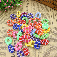 (KAKU19) 45pcs/bag Good Quality Baby Child Hair Holders Rubber Bands Small Elastics Girl's Tie Gum Hair Accessories Mix Color