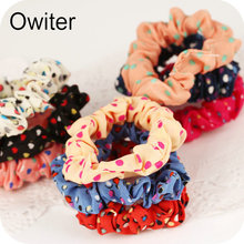 Owiter 10 Quality Thick Endless Snag Free Hair Elastics Bobbles Bands Ponios Mix(China)