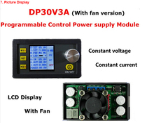 DP30V3A Constant Voltage and Current Step-down Programmable Power Supply Module Buck Voltage Converter LCD Display Voltmeter(China)