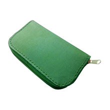 Green Memory Card Storage Carrying Case Holder Wallet 18slots + 4 slots For CF/SD/SDHC/MS/DS 3DS Game accessory