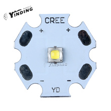 10pcs Cree XLamp XP-G2 XPG2 R5 Warm/Cold/Neutral White 5W Hight Power LED Emitter Chip Blub Lamp Light with 20MM PCB Heatsink(China)