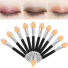 12 pcs Double-ended Sponge Eye Shadow Applicator Tools Disposable Eyeshadow Applicator Brushes Cosmetic Tools For Women Lady(China)
