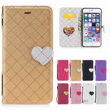 Newest Mixed Color PU Leather Case For iPhone 6 Plus Hit Color flip Caso Capa For iPhone 6S Plus Caixa Telefone Aleta aifon Caja(China)