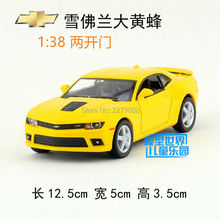 KINSMART Die-Cast Metal Model/1:38 Scale/2014 Chevrolet Camaro toy Special edition/Pull Back for children's gift or collection