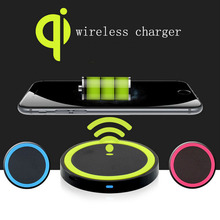 Universal Qi Wireless Power Charging Charger Pad For Mobile Phone new arrival FOR Samsung Galaxy S6 Note 5 with retail box