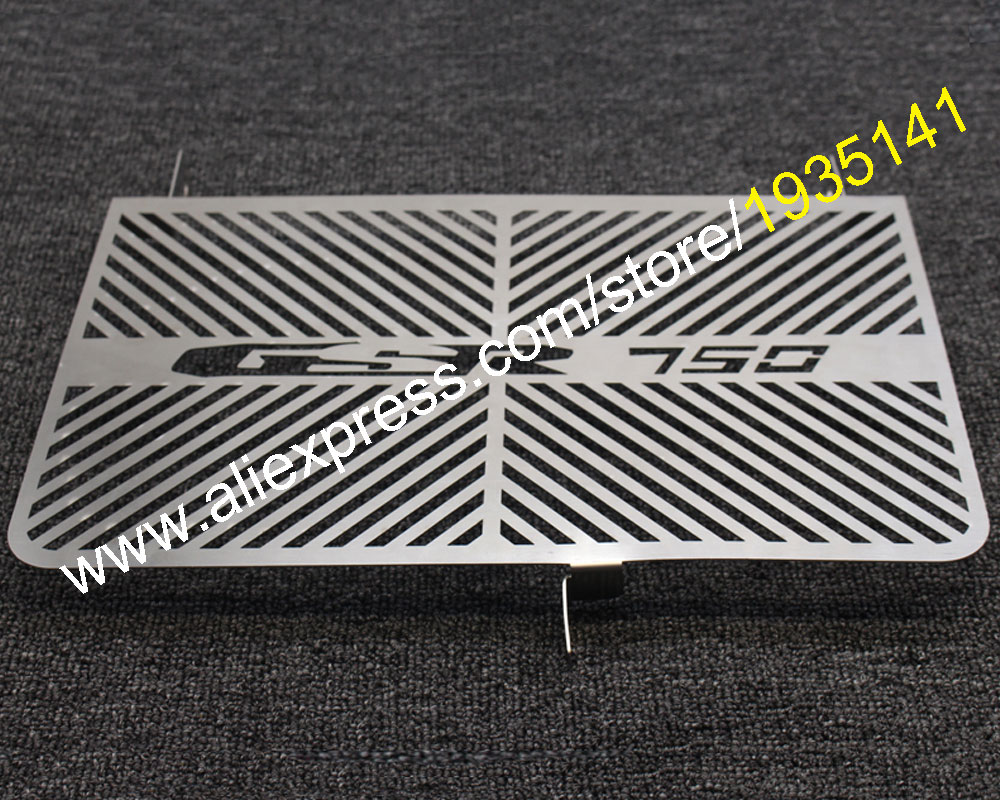 Hot Sales,Radiator Grille Guard Cover For Suzuki GSR750 2011 2012 2013 2014 2015 GSR 750 11 12 13 14 15 Oil Cooler Guard Cover<br>