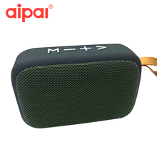 Aipal Bluetooth Speaker Portable Mini Wireless Speaker Outdoor MP3 Player Pocket Audio with TF Card(China)