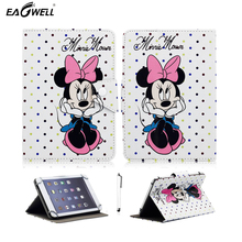 Universal 10 inch Tablet PC Case for 9.7 inch 10 inch 10.1 inch Tablet Leather Cover Flip Stand Magnetic Print Skin Shell Funda(China)