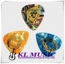 Good Stamping Guitar Picks,Guiter Plectrum with personalized gold logo printing