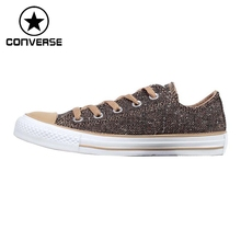 Original Converse Unisex Skateboarding Shoes Canvas Low top Sneakers(China)