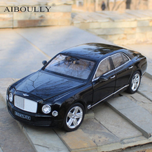 Bentley 1:18 High Alloy Model Car Factory Certification Static Decoration Decoration Gift Collection