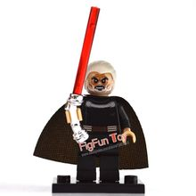 2 Count Dooku Blocks Bricks PG644 Chrom Handle Lightsaber Mini Action Figures Star Wars Building Gift Toys Children - FigFun Toy Store store