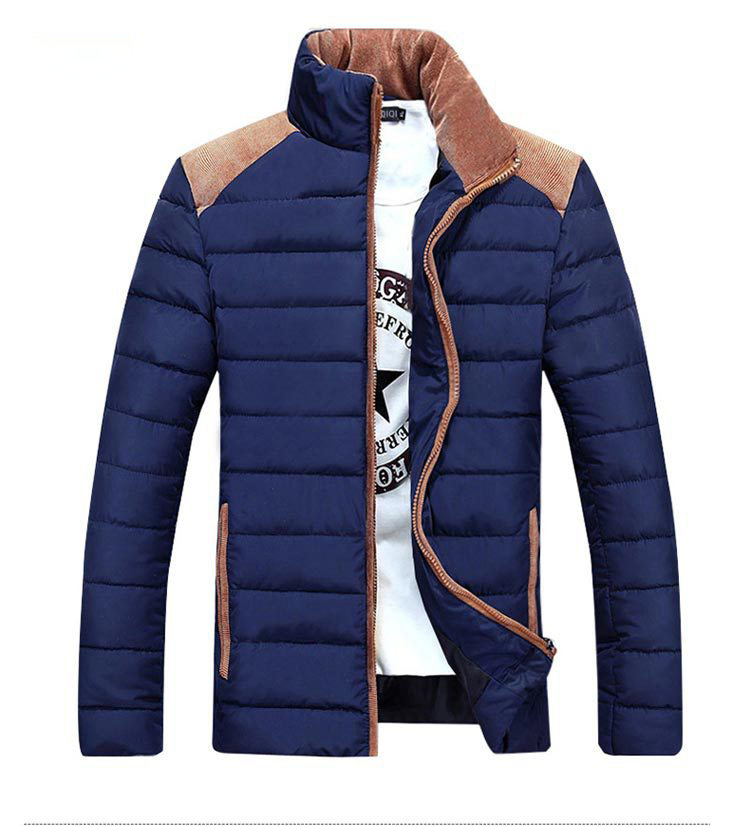 Man Winter Jacket Men Stand Collar Slim Fit Cotton Wadded MenS Quilted Jackets And Coats Cheap Winter jacket Y1025-90DОдежда и ак�е��уары<br><br><br>Aliexpress