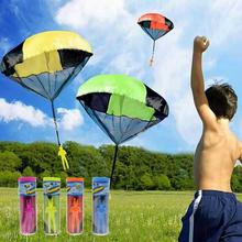 2017 Red Blue Yellow Kite Surf Kitesurf New children Parachute Throw And Drop Toys Outdoor Fun & Sports paraglider