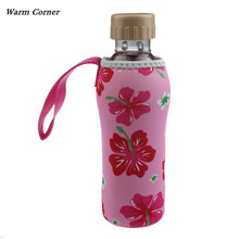 Warm Corner LM  Fashion New Warm Heat Insulation 500ML Water Bottle Bags Thermos Cup Bag Free Shipping Sept 7