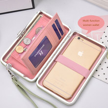 Women Wallet Phone Bag Leather Case for iPhone 7 6 6s plus 5s Samsung Galaxy S8 S7 Xiaomi mi6 mi5 redmi note 4 3 Huawei p9 Cover
