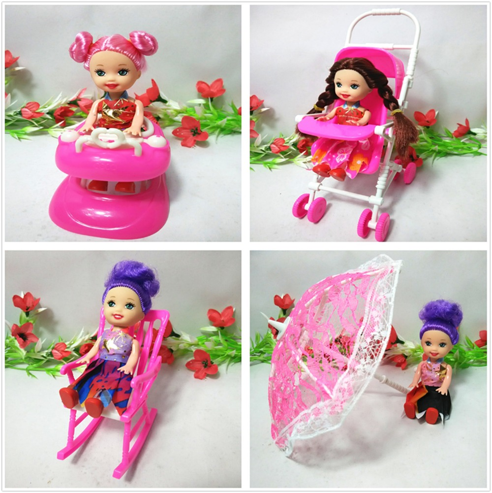 One Pcs Doll Equipment Tremendous cute Vacuum Cleaner Doll Furnishings For Barbie Doll Child Toys
