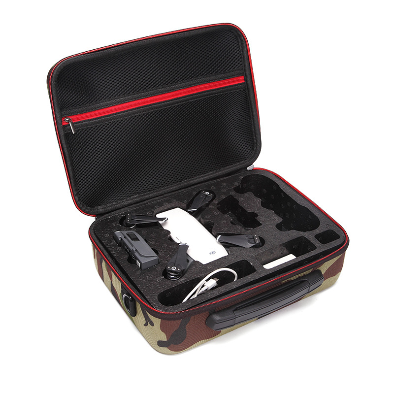 DJI SPARK Drone Waterproof Safety Handbag For DJI Spark New Camouflage Suitcase EPP Liner Standard RC Quadrocopter Storage Case