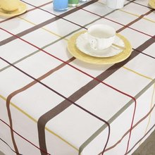 Europe Style Thick  Plain Table Cloth Home Use Cotton Canvas Table Cloth More Size Tabel Canvas