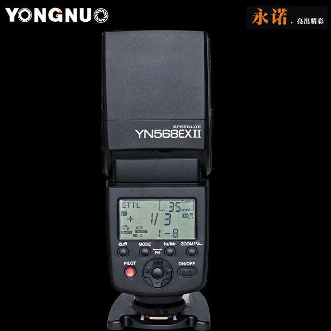 Yongnuo YN568EX II YN-568EX II  TTL HSS GN60 master control for Canon 70D 650D 7DII 5DIII 6D<br><br>Aliexpress