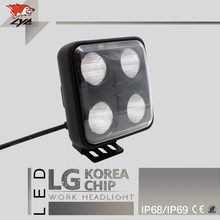 LYC Tractor Work Lamp Hid Projector Lens Led Off Road Lights for Trucks Led Offroad Lights 3000K/6000K 40W Different Pattern