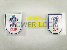 [Power Lock]17-18 England EFL Cup champion league + Final Match Details WEMBLEY STADIUM 26 FEBRUARY 2017  soccer patch,3pcs/lots
