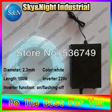 High brightness 2.3mm-100M-220v Decoration Outdoor& Indoor -ten color neon ligh+Free shipping
