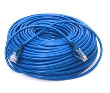 10m 15m 20m 25m CAT5 CAT5E RJ-45 ETHERNET LAN NETWORK PATCH CABLE BLUE MALE CONNECTOR ADSL cable(China)