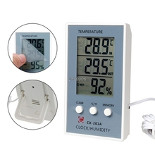 (OOTDTY) LCD Digital Thermometer Hygrometer Temperature Humidity Measurer Tester APR11_25