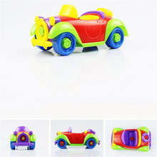 2017 HOT Christmas Gift Kids Child Baby Boy Disassembly Assembly Classic car Toy AUG 31(China)