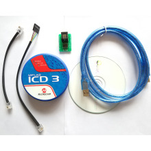 MPLAB ICD 3 In-Circuit Emulator Debugger Programmer Development tool for PIC MCU 40-pin ZIF Socket