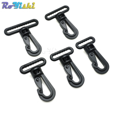 Plastic Swivel Snap Hooks Buckle for Backpack Belt Straps Briefcase Strap Clasp Garment(China)