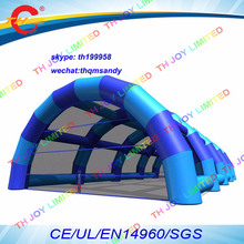 free air ship to door,24x12x6mH Large Inflatable Paintball Arena / Inflatable Structure / Inflatable Paintball Bunker Tent(China)