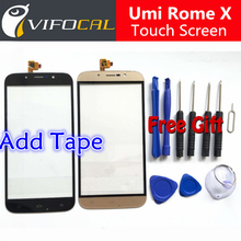 Umi Rome X touch screen + Tools Set Gift High Quality Digitizer glass panel Assembly Replacement for cell phone