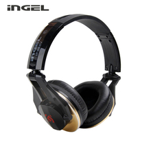 INGEL IP888V Wired Headband Earphones Headset With Mic Super Bass Headphones For Iphone IOS Android Smartphones Computer PC Game(China)