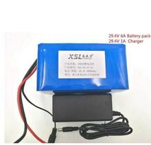 24V 6000mah 7S3P 18650 Battery lithium battery 24 v Electric Bicycle moped /electric/lithium ion battery pack +29.4V2A charger