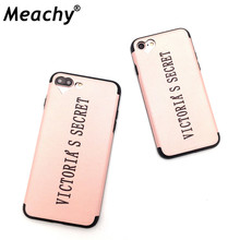 Meachy Fashion Popular Pink Phone Case For iPhone 6 6s Plus For Girl Cases For iphone 7 plus 8 8plus silicone Soft cover     O26