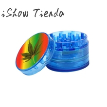 Counter Tobacco Herb Spice Grinder 4 Piece Herbal Smoke Chromium Crusher Drop Shipping(China)