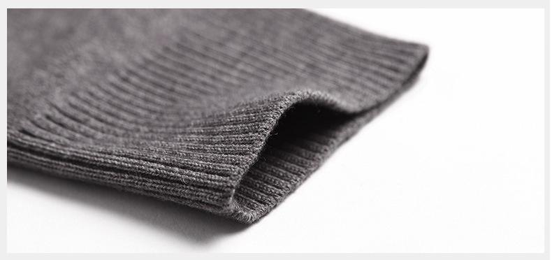 Merino Wool Sweater Pullovers Men V Neck Long Sweater Jumpers Luxury Winter Warm Mercerizing Fleece Male knitwear Autumn Spring-01