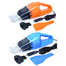 Upgrade 100W 3000PA 12V Portable Car Vacuum Cleaner Wet Dry Dual Use Super Suction Dust Collector 5 Meter Long Cable