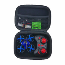 Tool Case Foam Twin Zips FPV Micro Quadcopter Inductrix Box Waterproof For Micro Quadcopter JJRC H36 Eachine E010